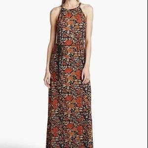 Lucky Brand Vintage Floral Maxi Dress Boho XL